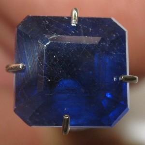 Safir Biru Octagon 2.80 carat