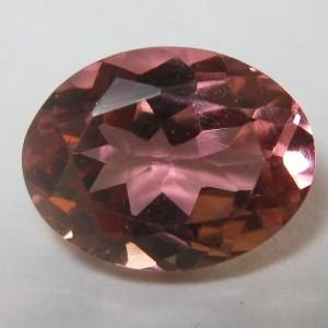 Oval Pink Tourmaline 1.29 carat
