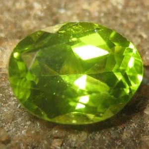 Peridot Oval 1.55 carat
