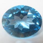 Topaz Swiss Blue Oval 2.70 carat