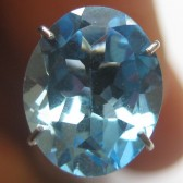 Topaz Swiss Blue Oval 2.70 carat