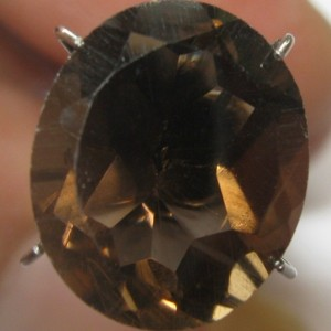 Oval Smoky Quartz 5.50 carat