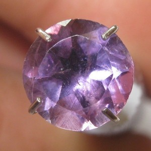 Round Purple Amethyst 1.00 carat