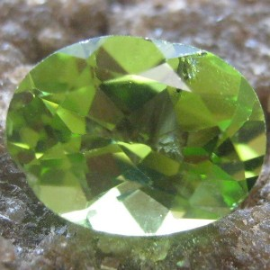 Peridot Oval Cut 1.20 carat