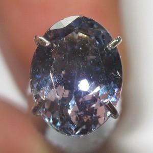 Purplish Blue Tanzanite 1.39 carat