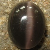 Black Cat Eye Sillimanite 3.26 carat