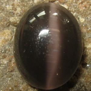 Black Cat Eye Sillimanite 3.26 carat