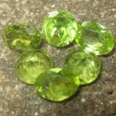 Set 6 Pcs Peridot 5.20 carat