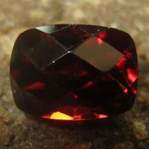 Pyrope Garnet Cushion Facet 2.19 carat