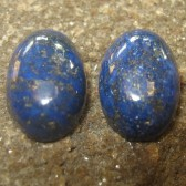 2 Pcs Lapis Lazuli 13.35 carat