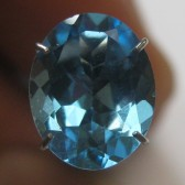 Elegant Swiss Blue Topaz 2.84 carat