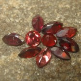 Set 10 Pcs Garnet Merah 3.50 carat