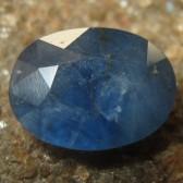 Safir Biru Pekat Elegan 1.36 carat