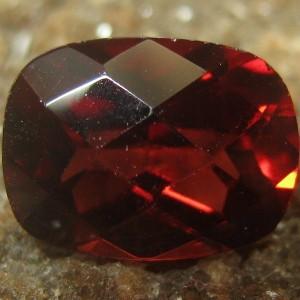 Pyrope Garnet Buff Top 1.91 carat