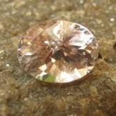 Orangy Pink Morganite 2.05 carat