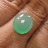 Yellowish Green Chalcedony 8.90 carat