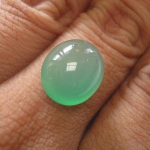 Yellowish Green Chalcedony 8.90 carat