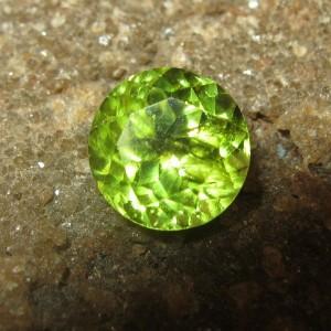 Round Cut Peridot 1.30 carat