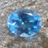 Swiss Blue Topaz Oval 2.65 carat