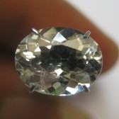 Very Light Blue Aquamarine 2.29 carat