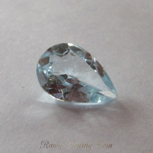 Pear Shape Blue Topaz 1.9cts