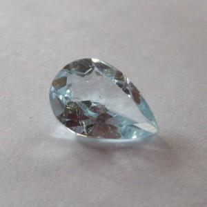 Peear Shape Blue Topaz 1.9cts