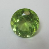 Round Top Flash Peridot 3.25 carat