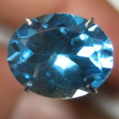Oval Swiss Blue Topaz 2.77 carat