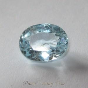 Oval Sky Blue Topaz 2 carat