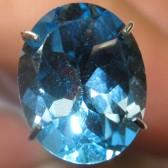 Topaz Swiss Blue Indah 2.85 carat