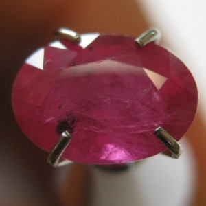 Ruby Oval Pigeon Blood 1.59 carat