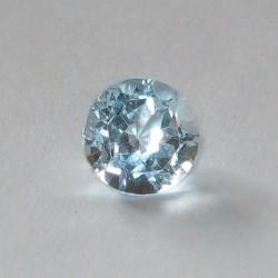 Elegan Blue Topaz Round 1cts