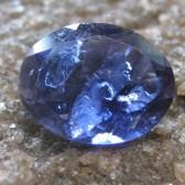 Blue Oval Iolite 1.60 carat