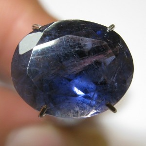 Deep Violetish Blue Iolite 3.30 carat