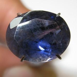 Deep Violetish Blue Iolite 3.30 carat