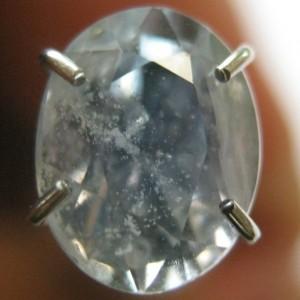 Safir Biru Muda Cantik 1.44 carat