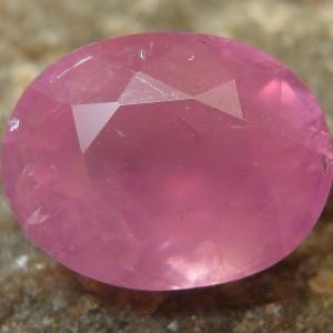 Safir Purplish Pink Oval 2.40 carat