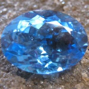 Blue Topaz Oval 4.22 carat