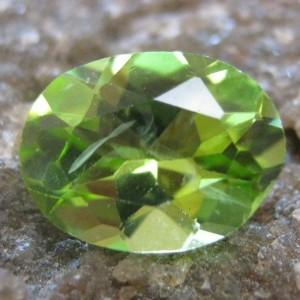 Oval Green Peridot 1.10 carat