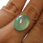 Chalcedony Hijau Bening 10.30 carat