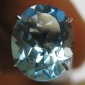 Blue Topaz Oval VSI 2.95 carat