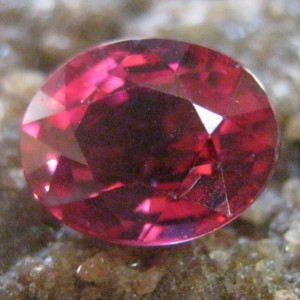 Purplish Pink Garnet Rhodolite 1.40 carat