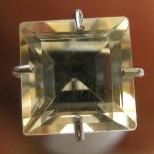 Citrine Kuning Muda Kotak 1.00 carat