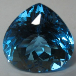Swiss Blue Topaz Pear Cut 5.36 carat