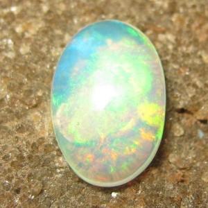 Opal Hijau Elektrik 0.90 carat