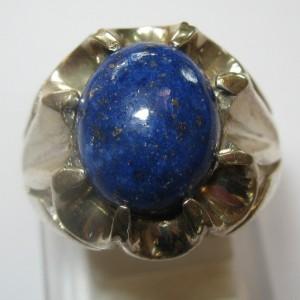 Cincin Lapis Lazuli Ring 9US