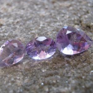 3 Pcs Batu Kecubung Ungu 4.25 carat