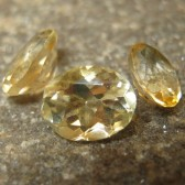 3 Oval Yellow Citrine 4.00 carat