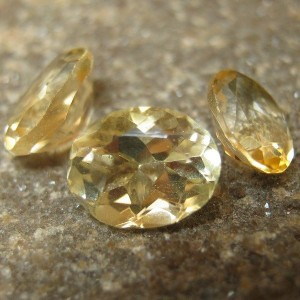 3 Oval Yellow Citrine 4.00 carat