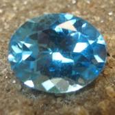 Blue Topaz Oval VSI 3.15 carat